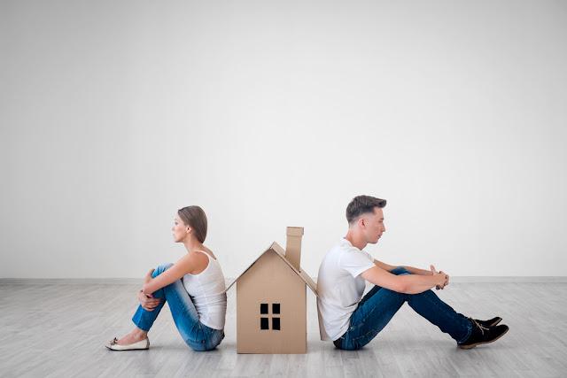 scheiding, verkoop, huis, woning, pand, immofusion