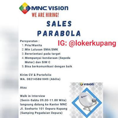 Lowongan Kerja MNC Vision Sebagai Sales Parabola
