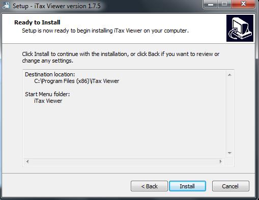 Hướng dẫn cài đặt iTaxViewer 1.7.5 mới nhất chi tiết đơn giản d