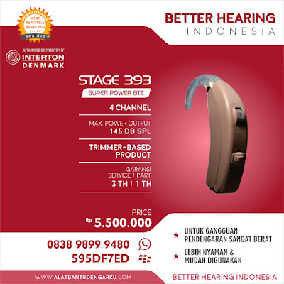 Alat Bantu Dengar Stage 393