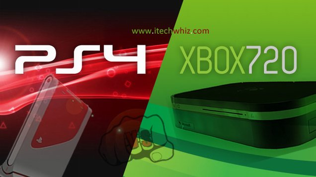 Xbox 720 vs PS4 Specs Comparison of Next Consoles