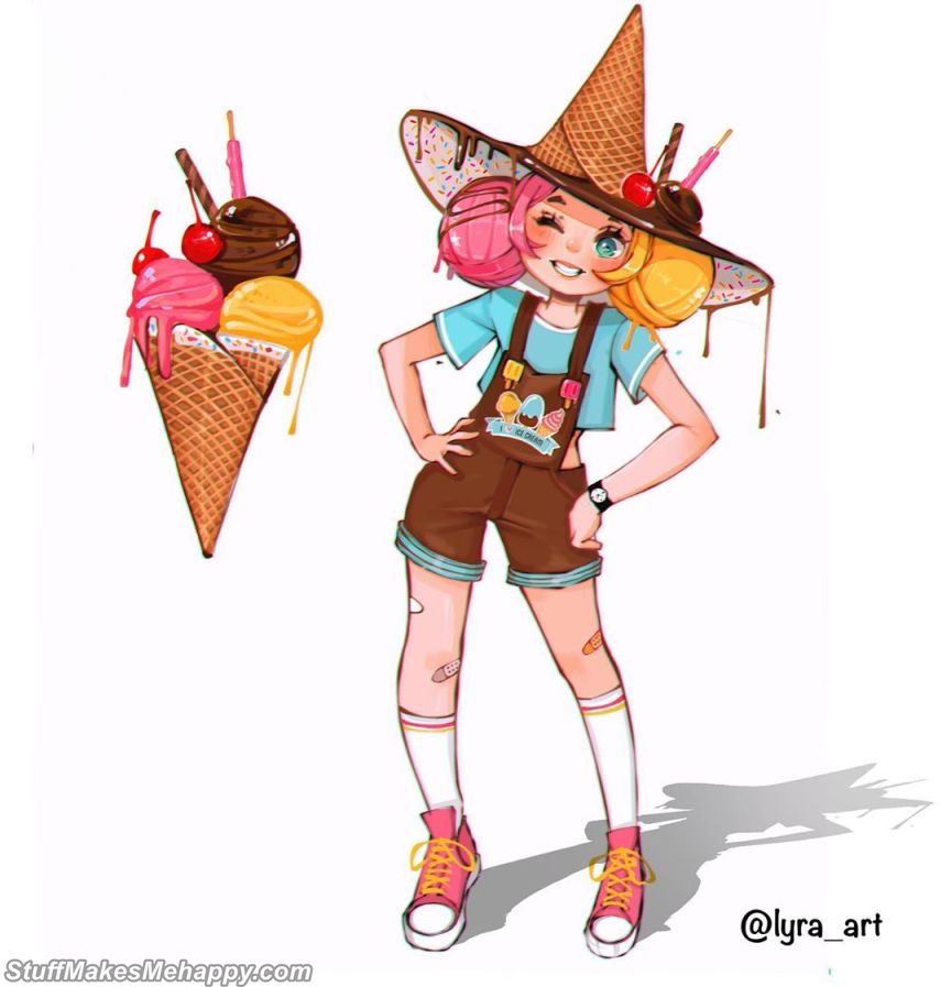 9. Ice cream
