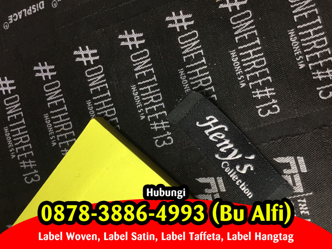 Label Baju Magelang, Cetak Label Baju Magelang, Bikin Label Kaos Magelang, Pembuatan Label di Magelang, Label Baju Area Magelang, Label Woven Magelang, Tempat Pesan Label Baju di Magelang