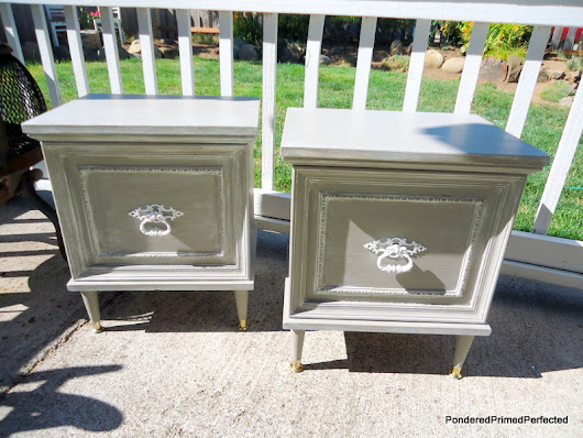 How this pair of washed out, homeless, 'down on their luck' nightstands got a second chance at life. A tutorial.
