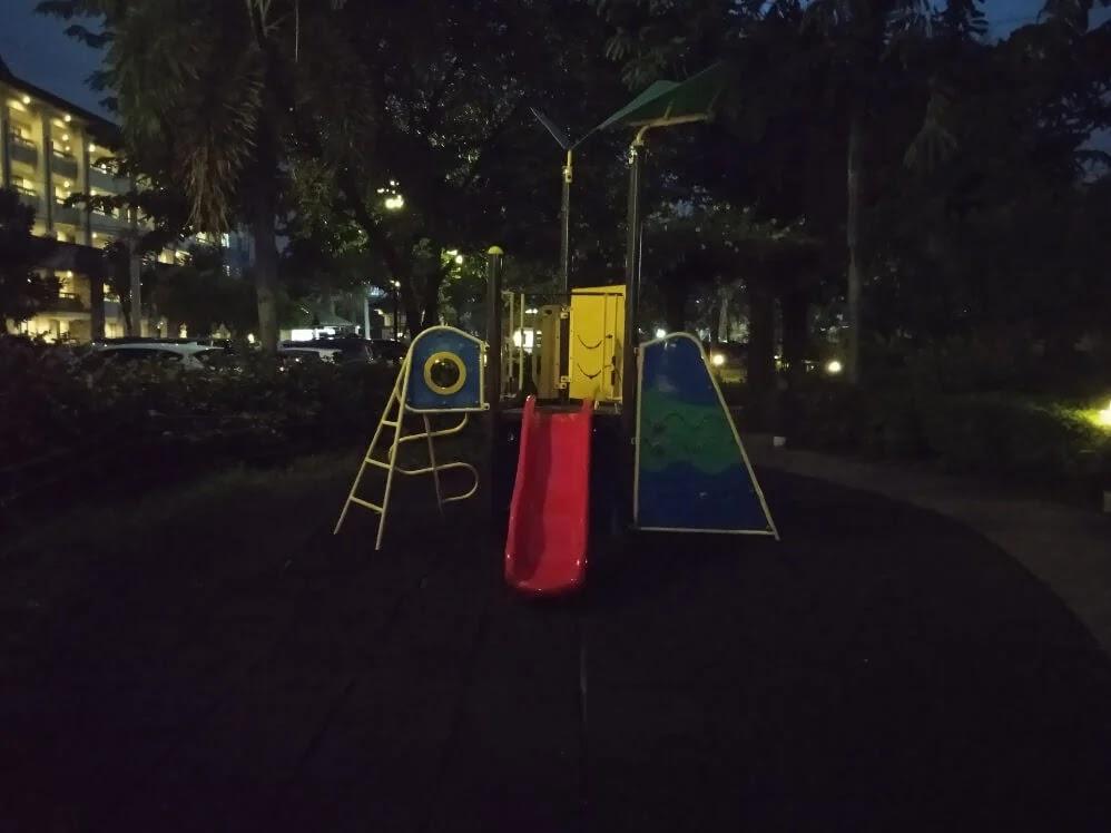 Xiaomi Redmi 9A Camera Sample - Playground, Night, HDR