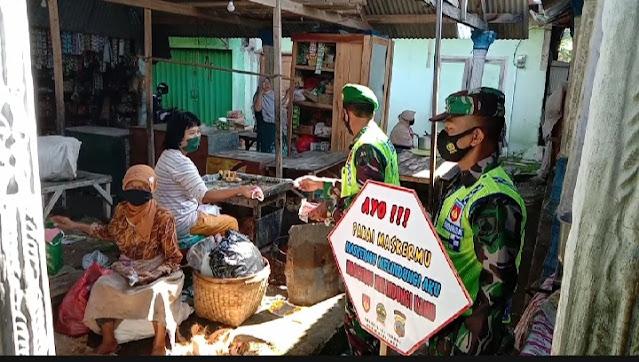 Bersatu Laksanakan Penegakkan Prokes di Wilayah Binaan