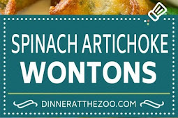 Spinach Artichoke Wontons