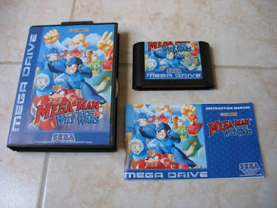 megaman willy wars sega megadrive