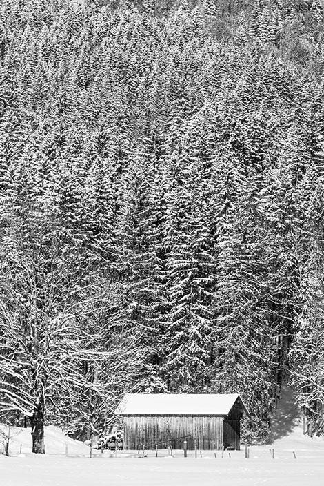 Winterlandschaften in Bayern