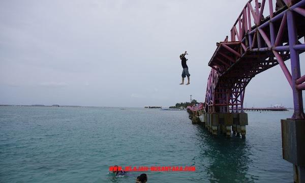 konsumsi wisata pulau tidung