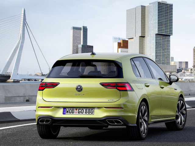 VW Golf 2020 R-Line eTSI