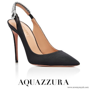 Meghan Markle wore Aquazzura Portrait of a Lady sling