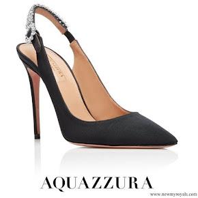 Meghan Markle wore Aquazzura Portrait of a Lady sling