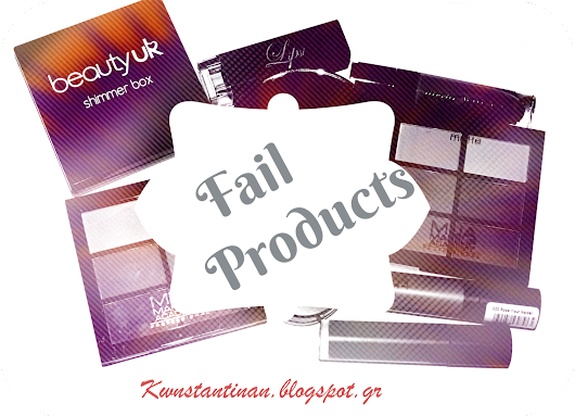 Fail make-up products