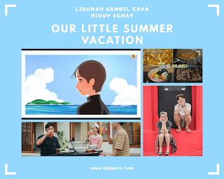 our little summer vacation variety show korea selatan liburan dan gaya hidup sehat