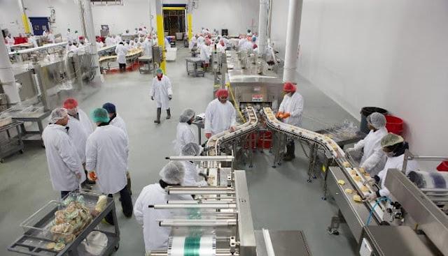auxiliar de produção - colombo