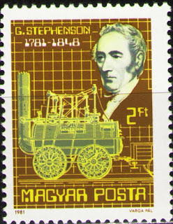 Hungary 1981 G.Stephenson,British Railroad Engineer