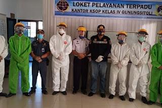 Pelabuhan Gunungsitoli Wajibkan Pengunjung Patuhi Protokol Kesehatan