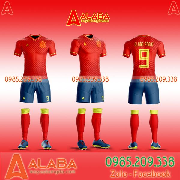 Áo Tây Ban Nha 2019 2020
