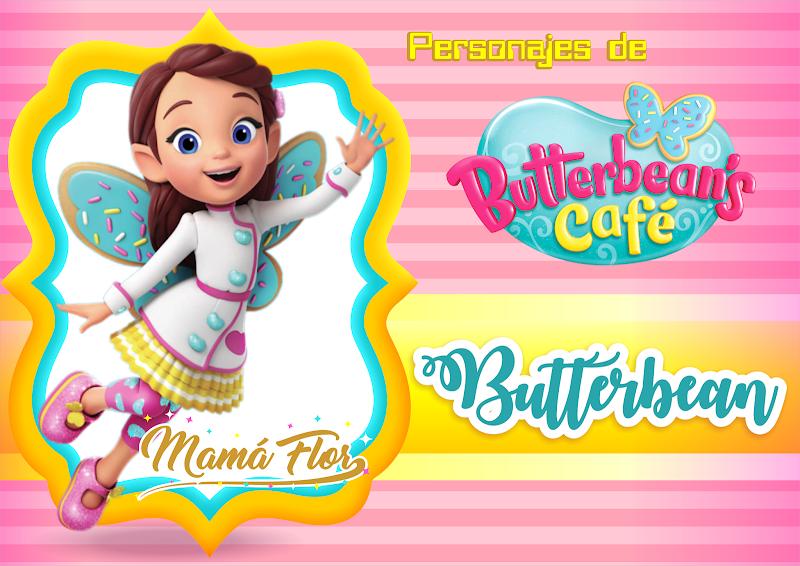 Personajes de Butterbean's Café