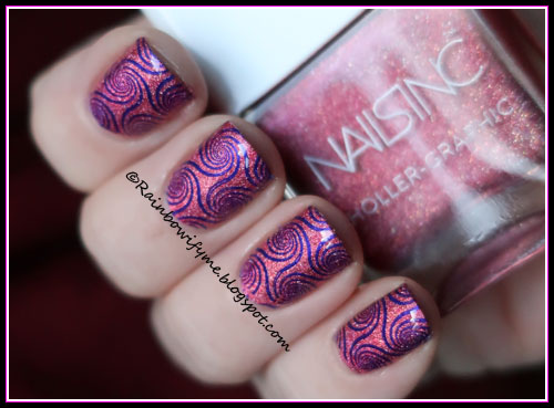 Nails Inc. ~ Molten My Day