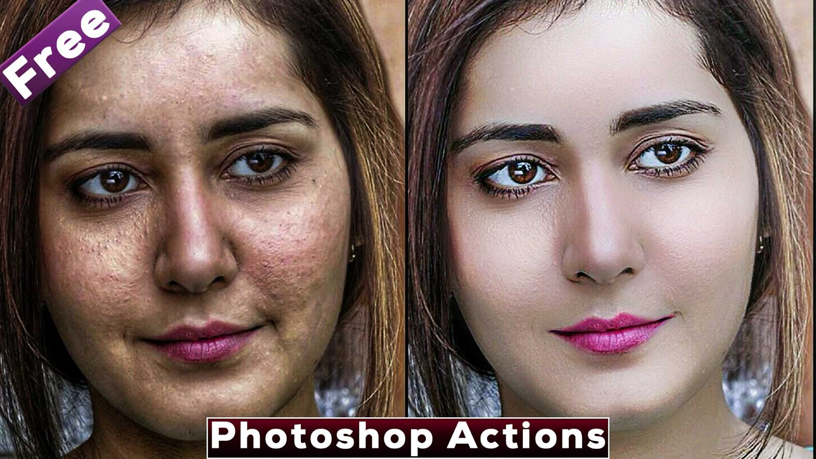 Best Skin Retouching Photoshop Actions | Download Free
