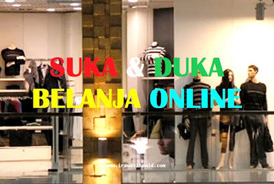 suka duka belanja online
