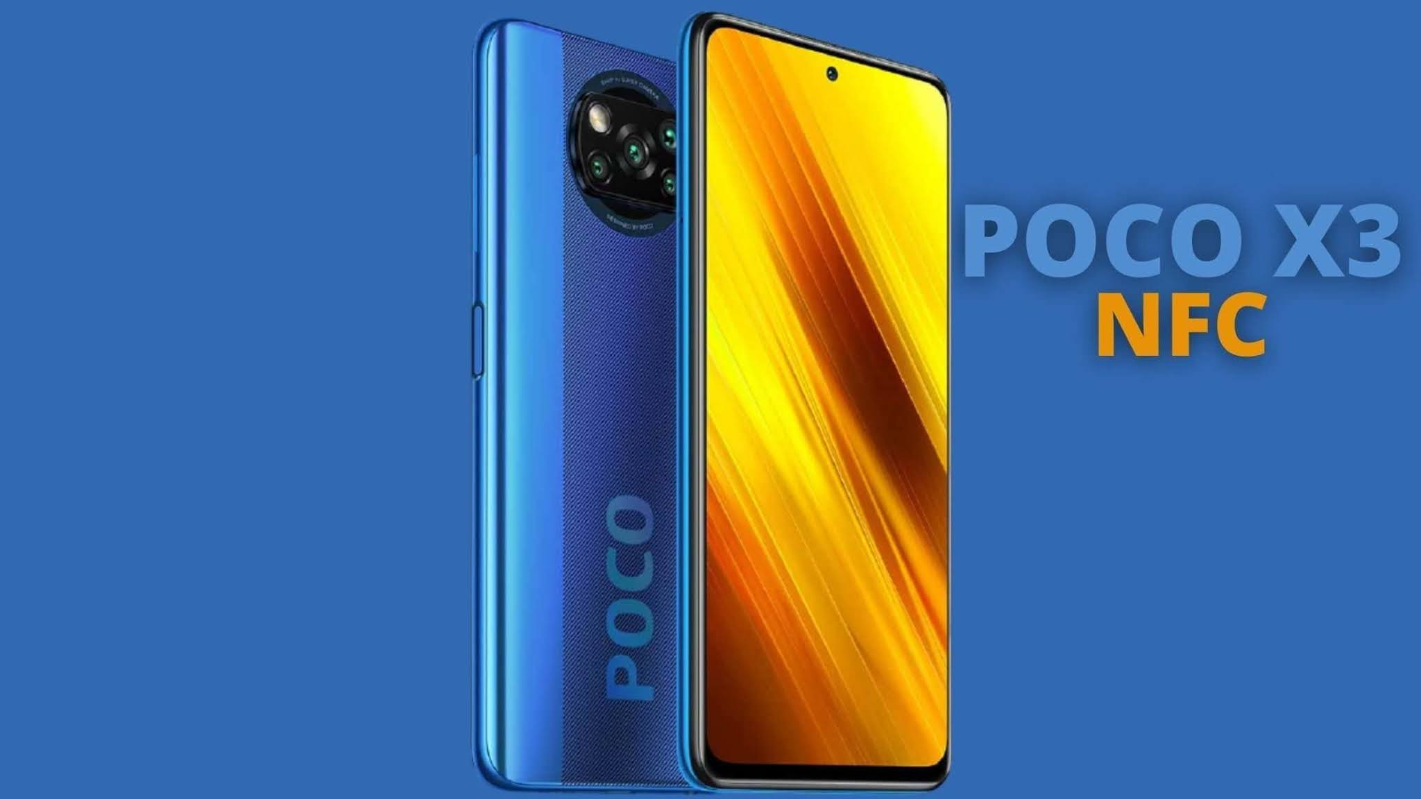 Xiaomi POCO X3 NFC | Price, Specifications, and box content