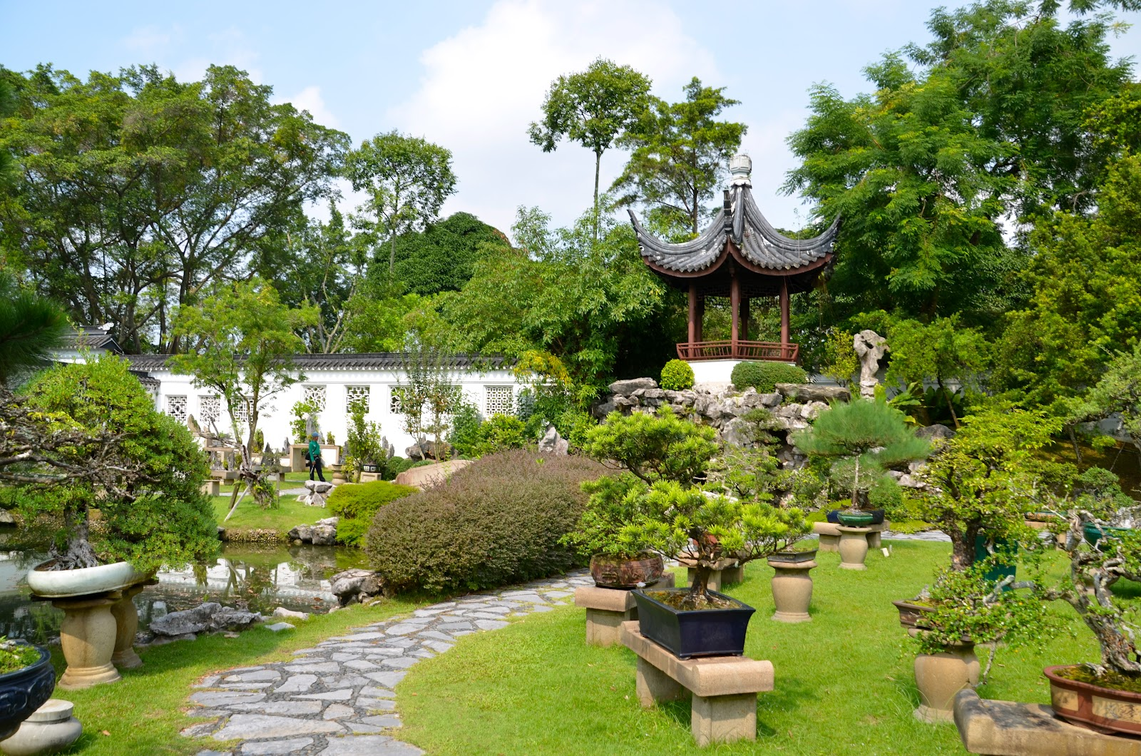 Singapore: Chinese and Japanese gardens
