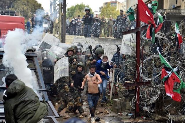 Buntut Status Yerusalem, Demo Anti-Trump Pecah di Lebanon