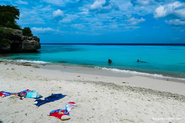 Segurança nas praias de Curaçao