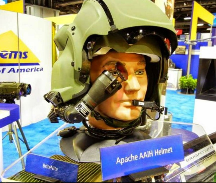 Helm Produk Israel digunakan Helikopter Apache TNI