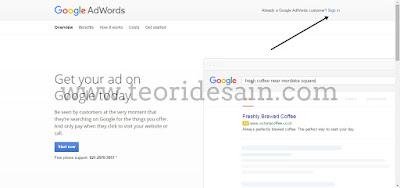 Cara Sign Google Adword