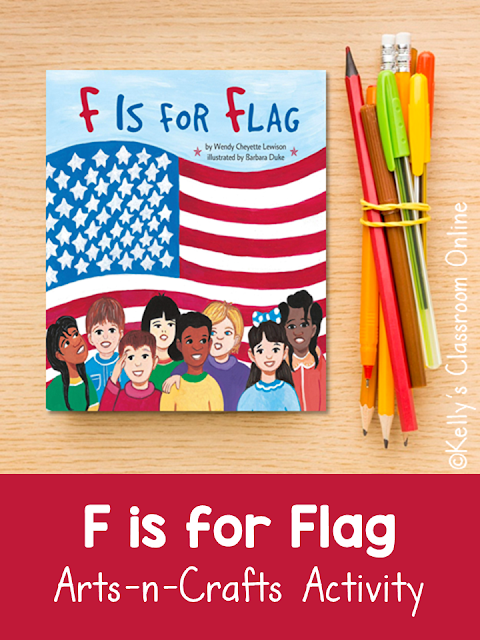 F is for Flag by Wendy Cheyette Lewison