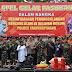 Polres TPI Gelar Apel Pasukan Dalam Rangka Kesiapsiagaan Penanggulangan Bencana