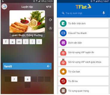 TFlat - Tải từ điển Anh Việt TFlat, dịch tiếng Anh cho máy tính, PC g