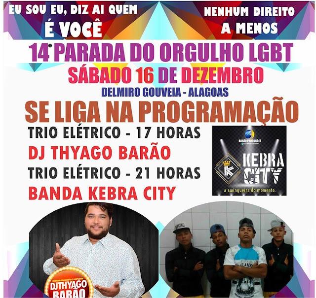 Festa da Diversidade, GLAD realiza 14ª Parada do Orgulho LGBT em Delmiro