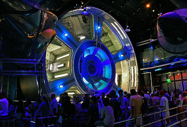 Mission Space no Epcot em Orlando