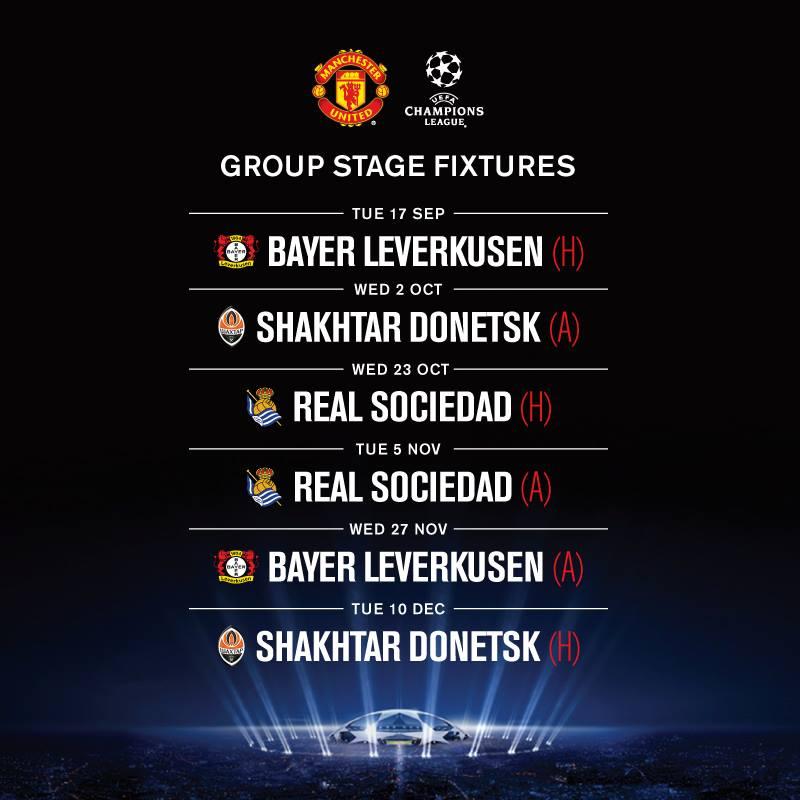 Champions League Fixtures Today / Uefa Champions League ...