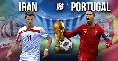 ايران تعذب البرتغال في قمة المجموعة الثانية وتتعادل معها 1-1