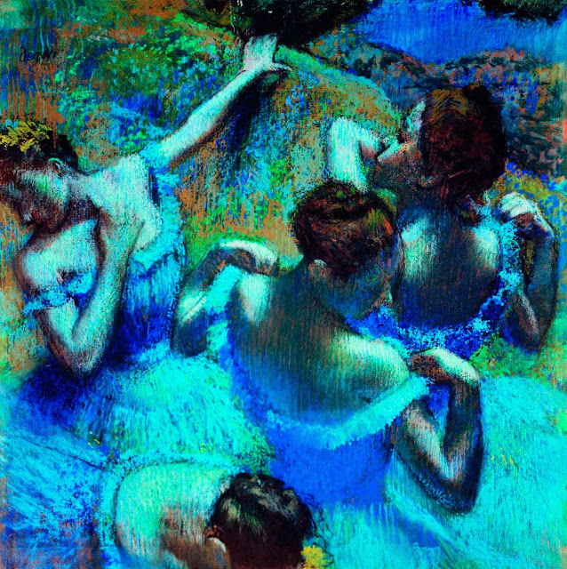 Эдгар Дега - Голубые танцовщицы (1898)