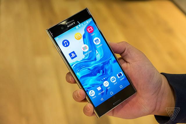 Cara Screenshot di Sony Xperia XZ Premium