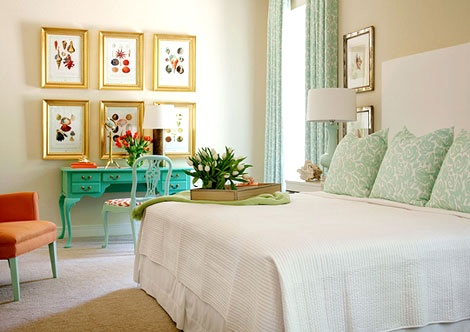 Elegant Coastal Bedroom Design