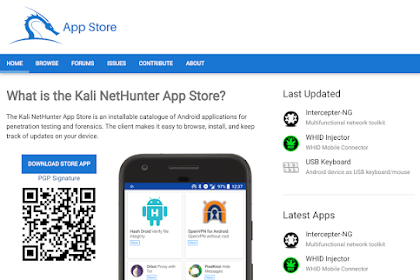Kali NetHunter App Store - The New Android Store Dedicated to Free Security Apps