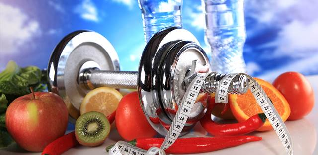Ejemplos de alimentos para antes y después de pesas