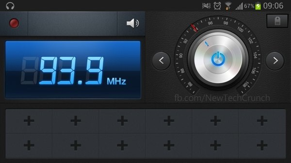 Radio App Samsung Galaxy S3