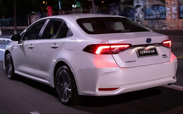 Toyota Corolla 2020 Hybrid Premium - Branco Pérola