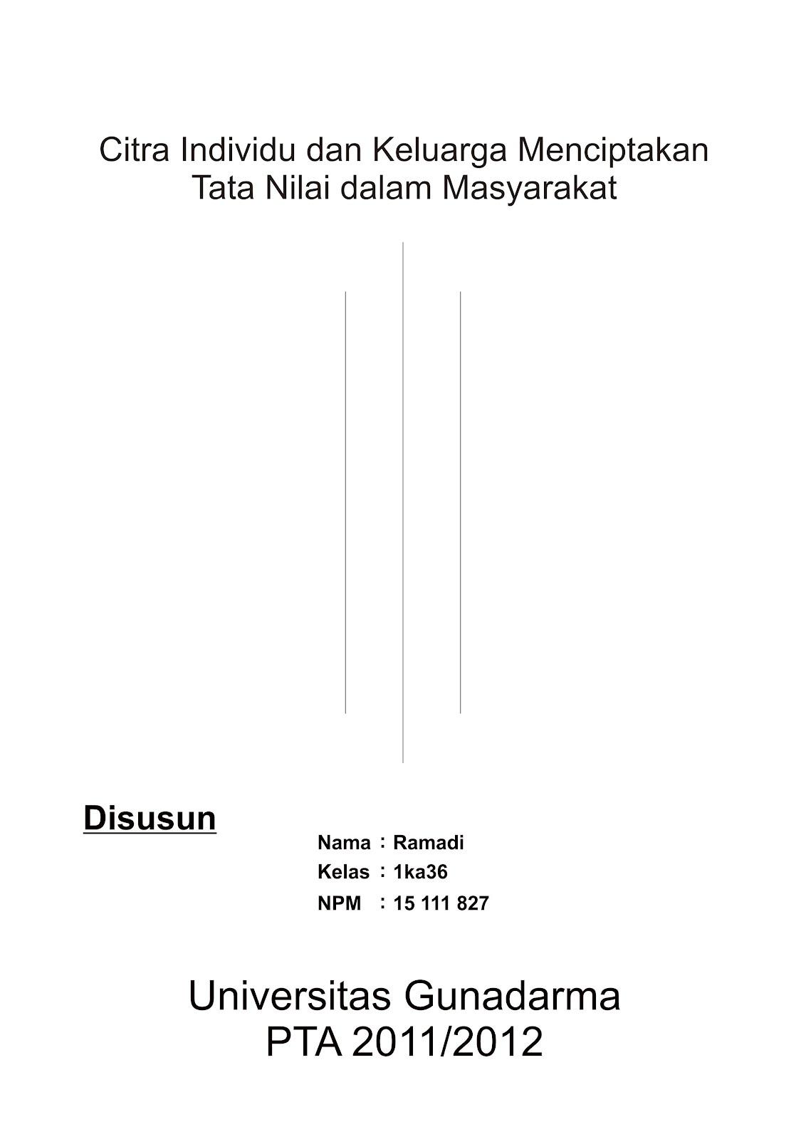 Contoh Makalah Gunadarma Cards Of