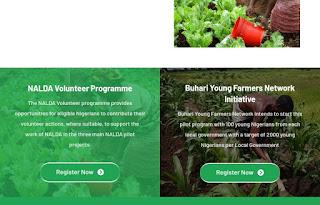 """alt = """"screenshot of buhari young farmers application portal """""""