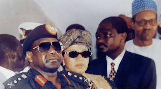 image result for Gen Sani Abacha wife